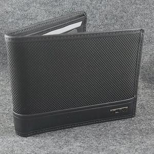 Tumi ballistic black wallet
